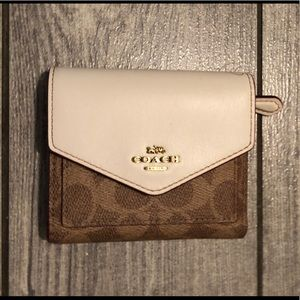 Coach Bags - Coach small signature wallet